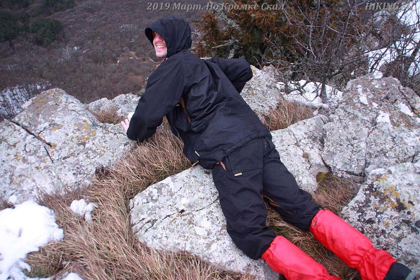 Фото к отзыву Между Небом и Морем По Кромке скал март 2019 года Встреча Симферополь Андрей Дубровский