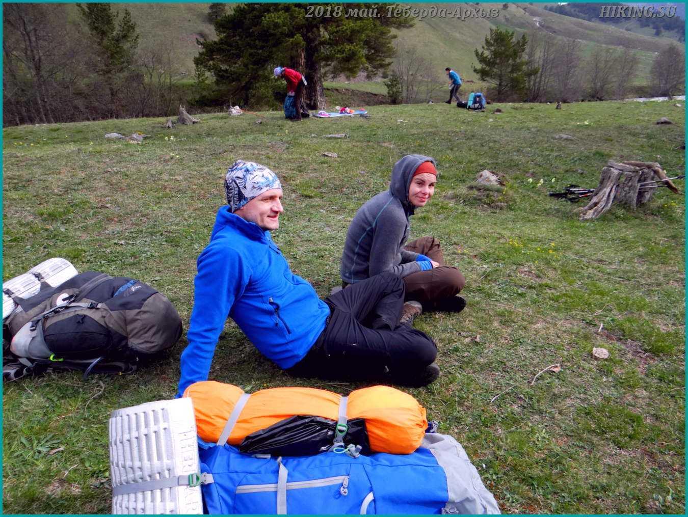 Фото 2 Отзыв о походе Тебердинские Волки Женя, Галя, Ксения. Теберда-Архыз май 2018г