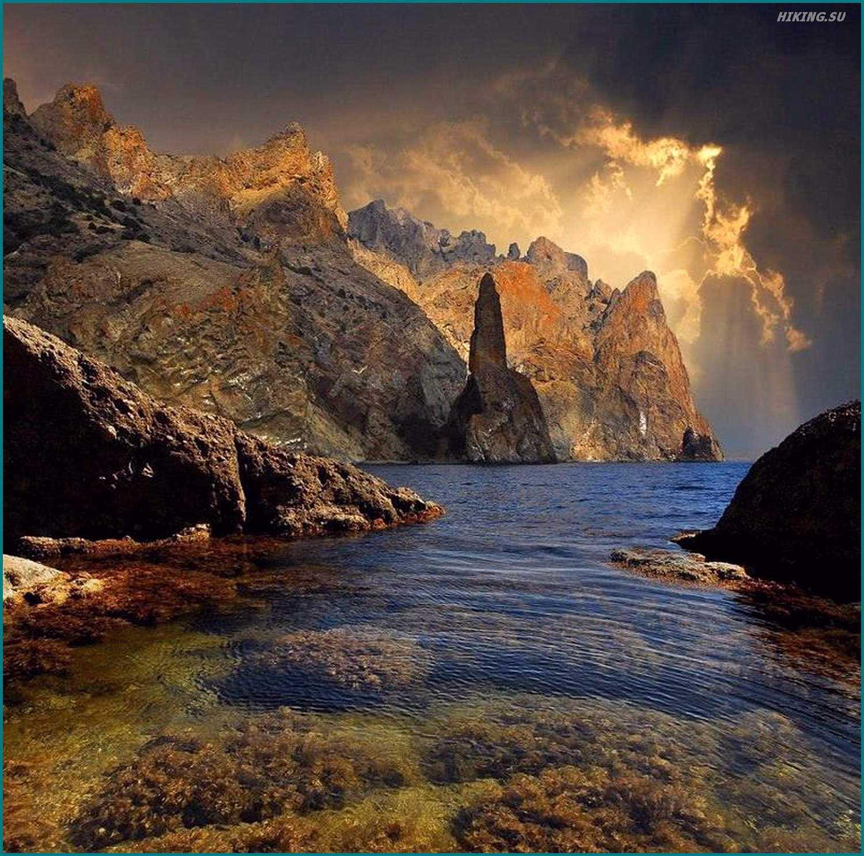 Фото 1 к описанию маршрута Киммерия без Палаток. Карадаг и солнце сквозь тучи