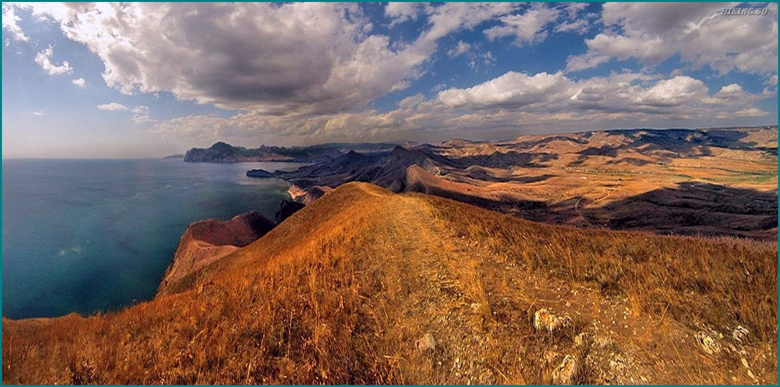 Фото 3 к описанию маршрута Киммерия без Палаток. Коктебель и Карадаг и солнце сквозь тучи