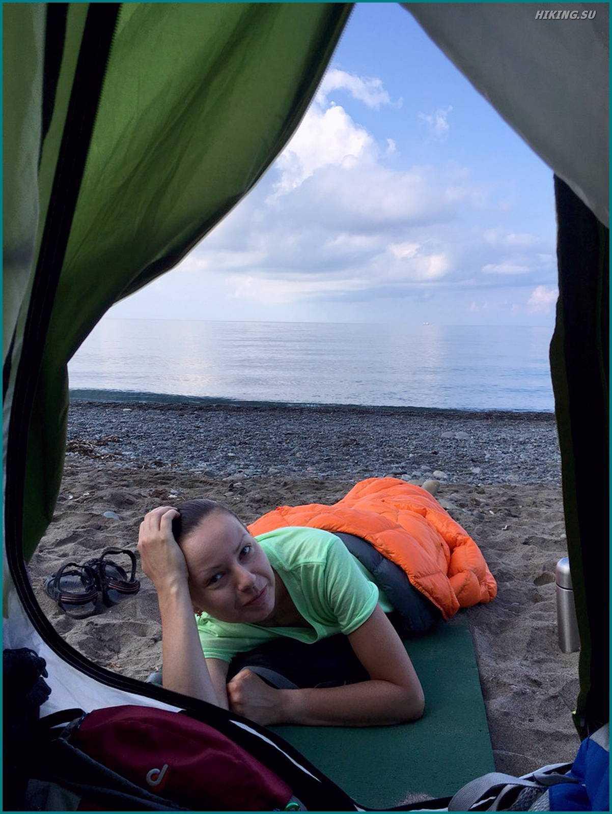 Отзыв Меганом-сильное место Римма Безяева на пляже