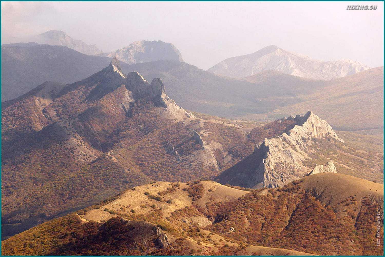Фото 7 к описанию маршрута Киммерия без Палаток. Таракташ и солнце дымка.